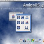 Installing AmigaOS4.1 Update 1 on my SAM440ep.