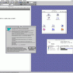 Using Microsoft Word 6.0.1 running on MacOS 7.5.5 (Basilisk II).